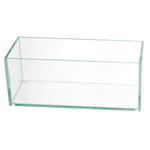 """4""""H X 4""""W X8""""L LOW RECTANGLE PLATE GLASS"""