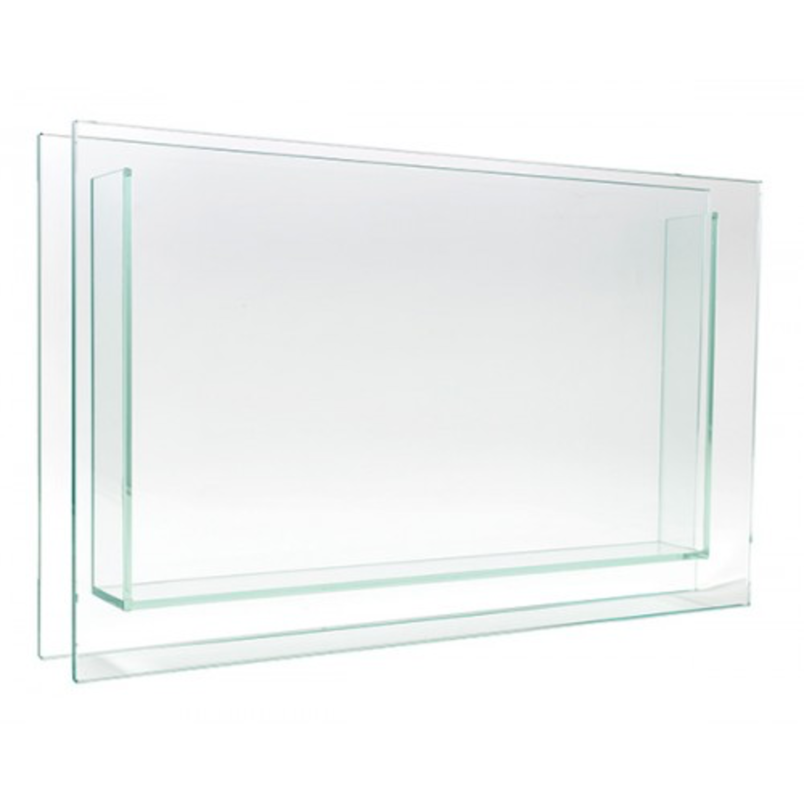 """18"""" X 2"""" X 12"""" SQUARE PLATE GLASS"""