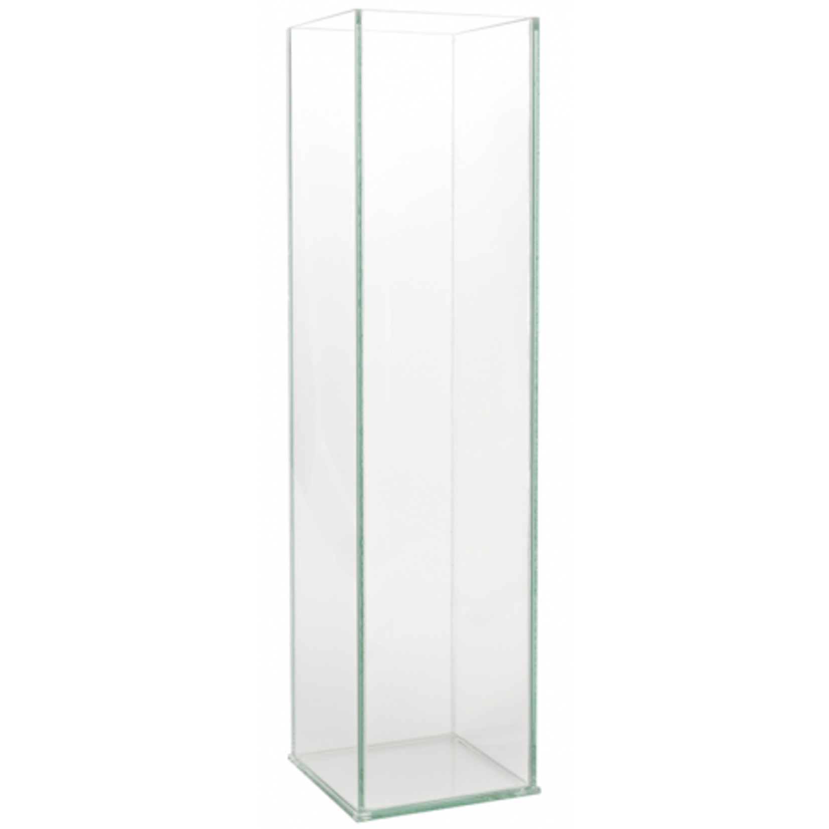 """20""""H X 5"""" X 5"""" TALL PLATE GLASS SQUARE"""
