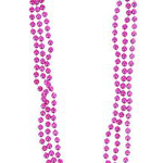 """33"""""""" 7 MM PINK BEADS"""