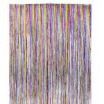 36'' X 96'' RAINBOW FOIL CURTAIN