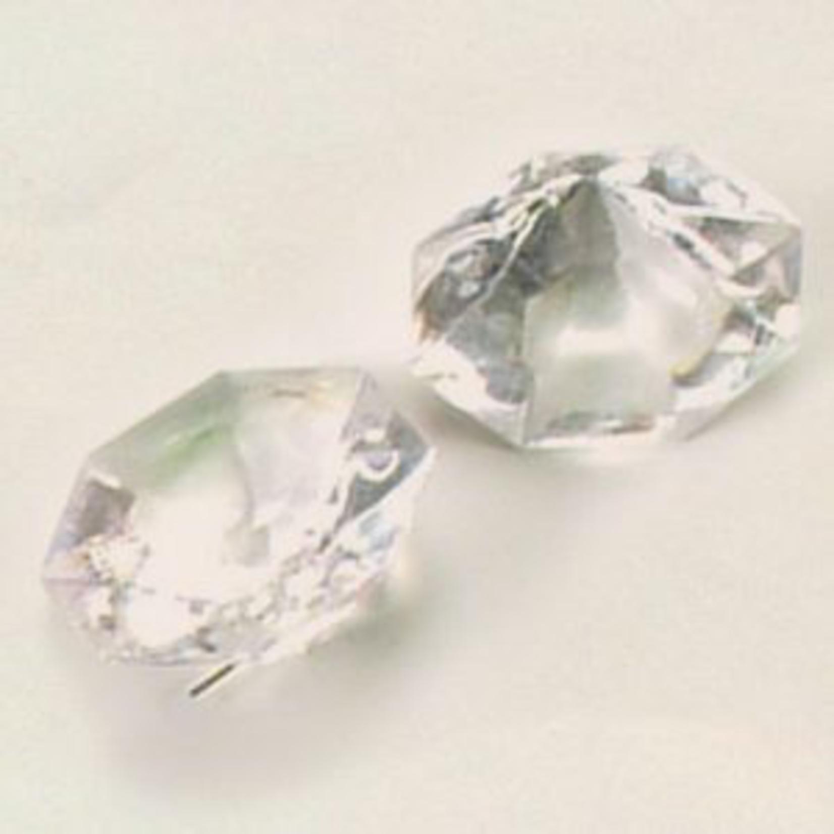 32X32X22MM ACRYLIC DIAMOND, 1 LBS/PACK