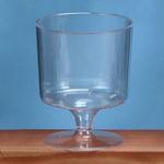 3.25' PLASTIC DESSERT GLASS PK 12