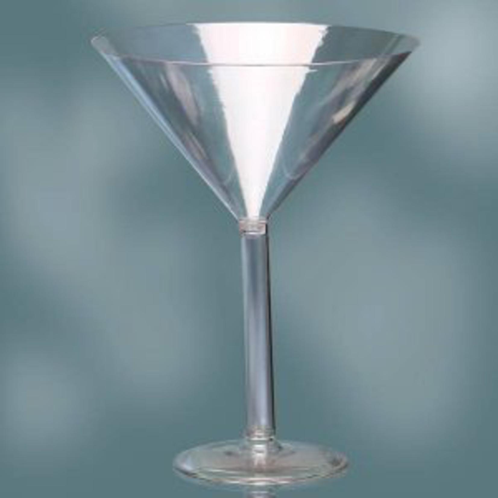 12'' PLASTIC MARTINI GLASS