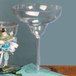 12'' PLASTIC MARGARITA GLASS
