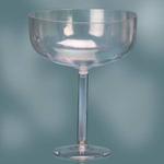 12'' PLASTIC CHAMPAGNE GLASS