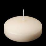 """3"""""""" Ivory Floating Candle"""