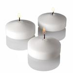 "2"""" White Floating Candle"