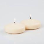 """2"""""""" Ivory Floating Candle"""
