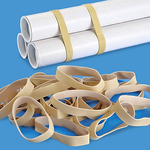 #84 1 POLY RUBBER BAND 3 1/2 X 1/2