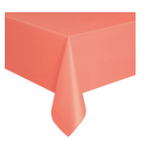 """108"""" X 54"""" REC CORAL TABLE COVER"""