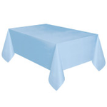 """108"""" X 54"""" POWDER BLUE TABLE COVER"""