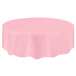 """84"""" LOVELY PINK ROUND TABLE COVER"""