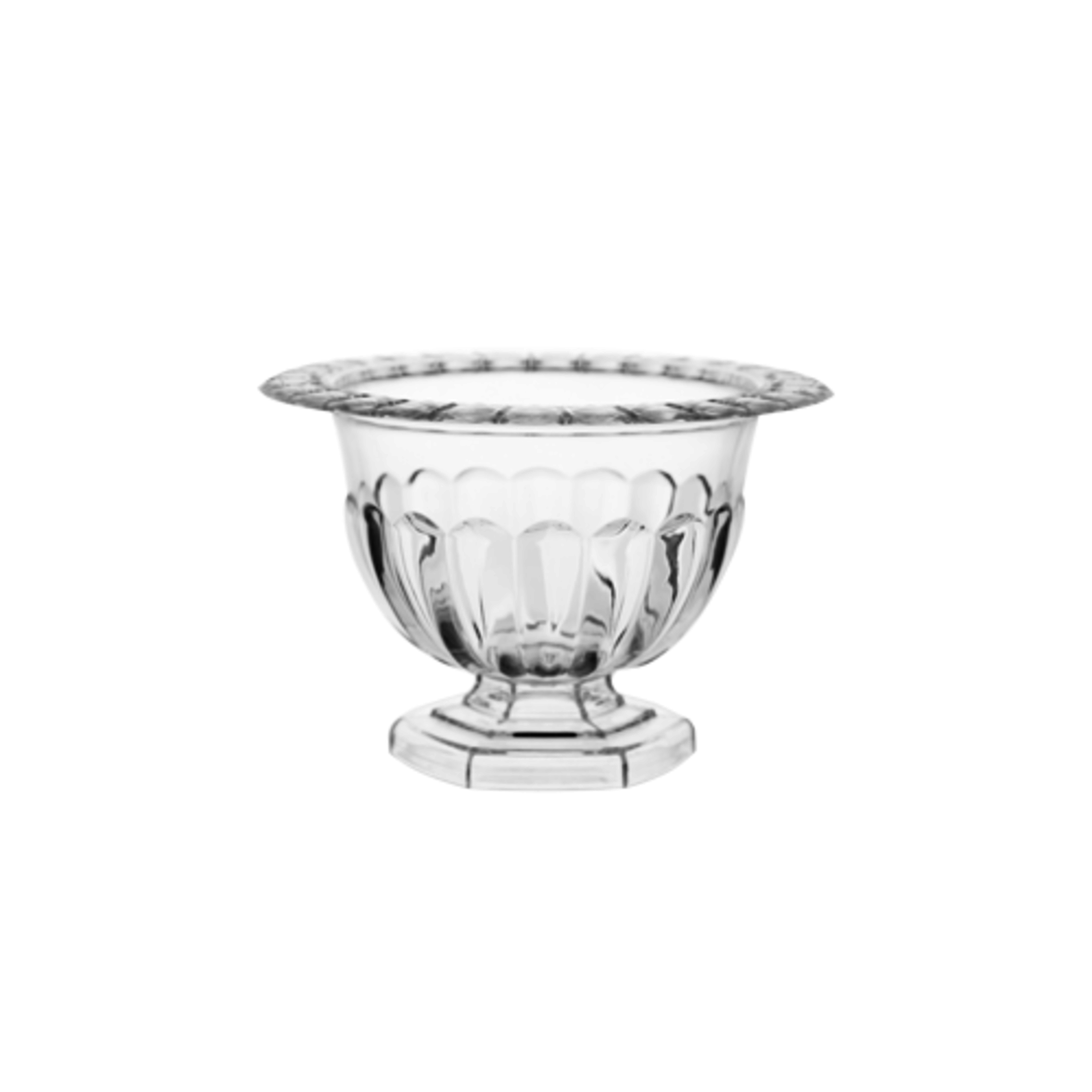"""4 1/4"""" Abby Compote - CLEAR PLASTIC"""