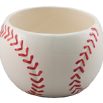 Ceramic Baseball planter