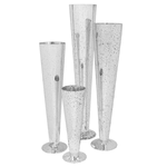 """50% OFF WAS $36 NOW $18 Wide Crown Pilsner Antique Silver H-28"""""""" x D-5.5"""""""""""""""
