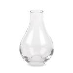 """Clear Tear Drop Bud Vase H-6.5"""""""" x Open 1"""""""""""