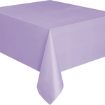 """Plastic Tablecover 54""""""""x108"""""""" -Lavender"""