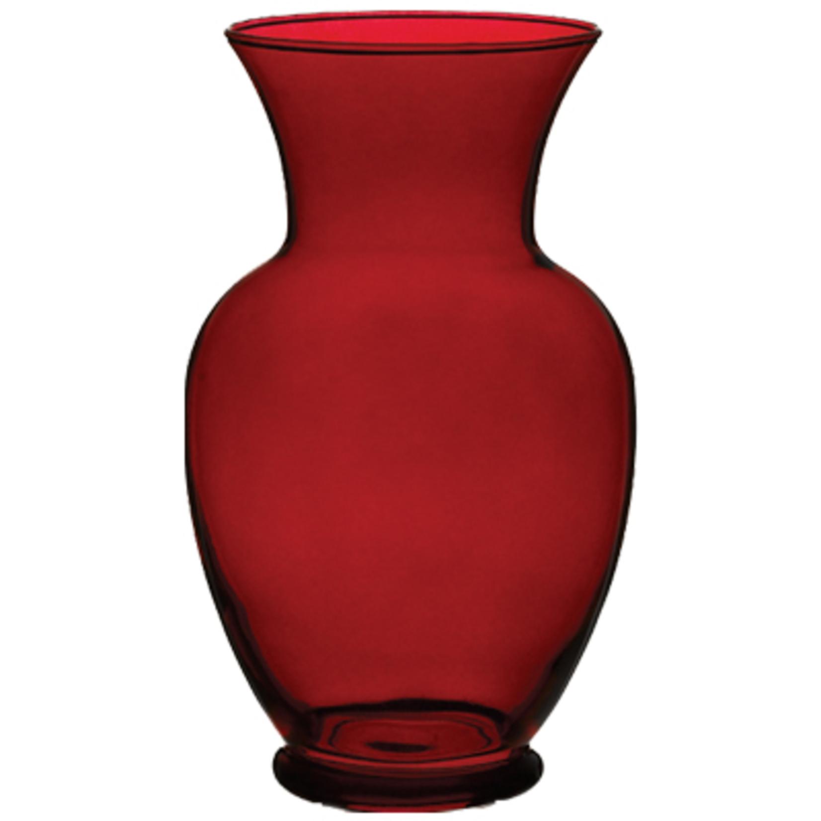 "11"""" Spring Garden Vase - Ruby"