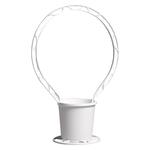 Round Basket - White