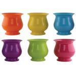 "4 3/4"""" Pedestal Compote - Popsicle Assortment"