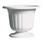 """9 5/8"""""""" Pedestal Urn - White"""