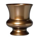 """9 1/2"""""""" Designer Urn - Antique Brass"""