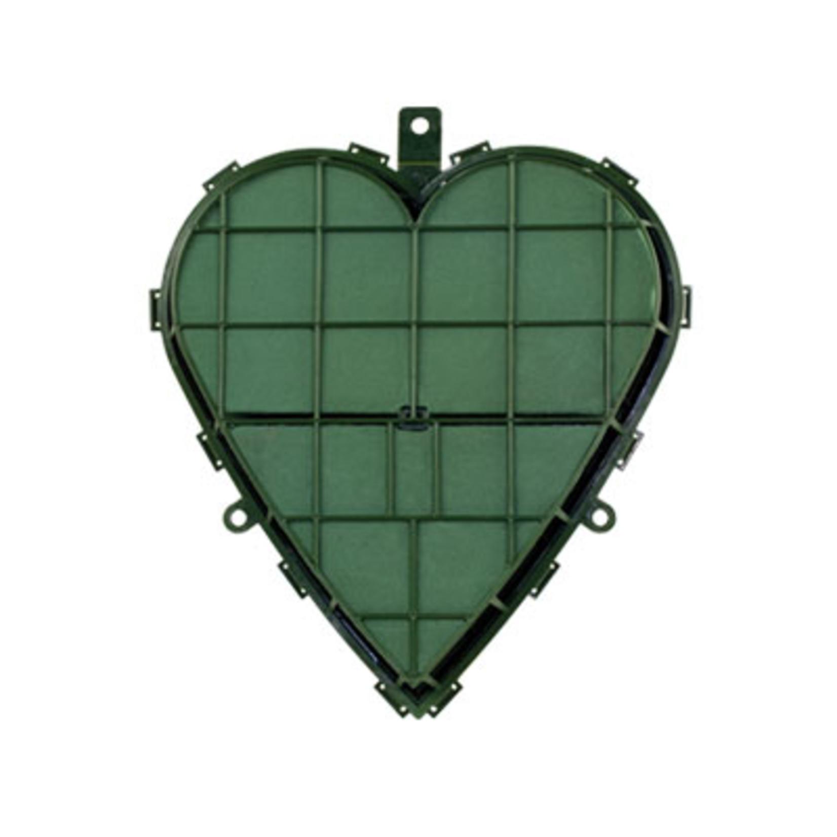"""12"""""""" Solid Heart - WET FOAM Green"""