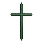 """36"""""""" Cross WET FOAM- Green"""
