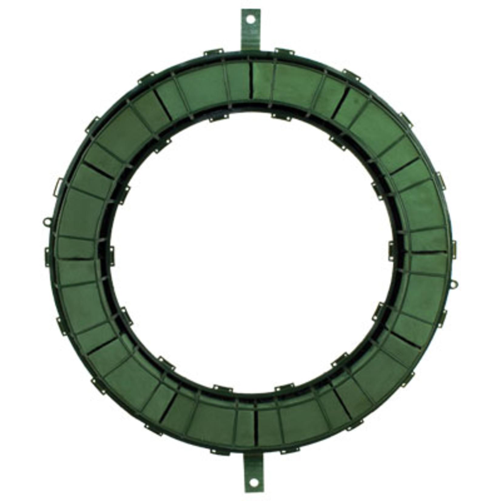 """22"""""""" Wreath -WET FOAM Green"""