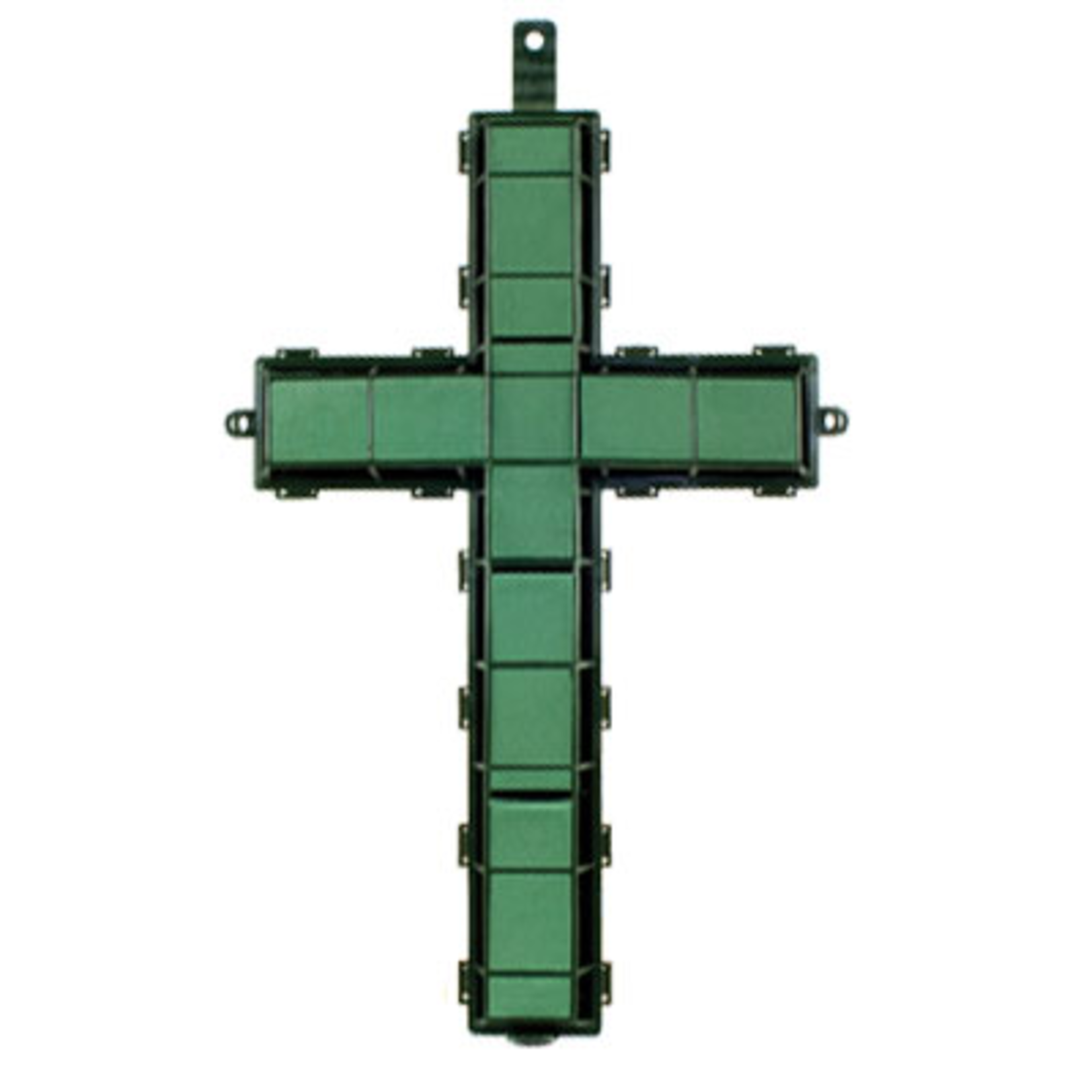 """20"""""""" Cross  WET FOAM- Green"""
