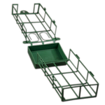 Closed Base Cage - Green