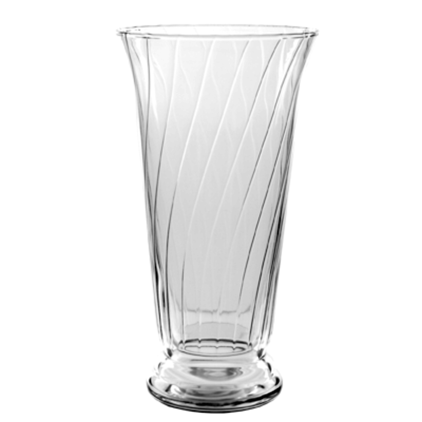 "10 1/2"""" Romanesque Vase - Crystal"