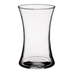 """8""""H X 4.75""""D Small Gathering Vase - Crystal"""