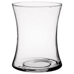 "8"" X 6.13"" Gathering Vase - Crystal"
