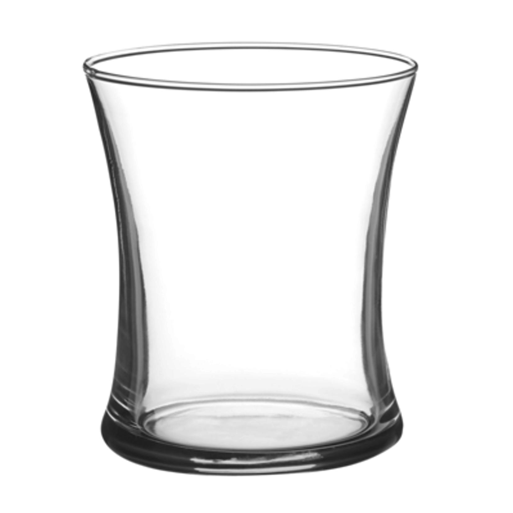 "4 1/4""H X 3.5""  Gathering Vase - Crystal"