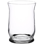 "8"""" Hurricane Vase - Crystal"