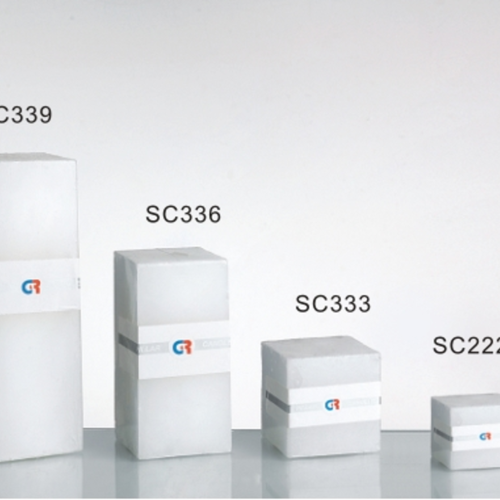 """3""""""""X3""""""""X6""""""""H SQUARE CANDLE"""