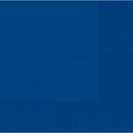 Bright Royal Blue 2-Ply Beverage Napkins 50ct