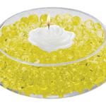 Deco Beads - 8oz Jar, Yellow