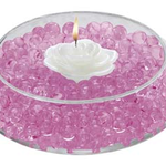 Deco Beads - 8oz Jar, Pink