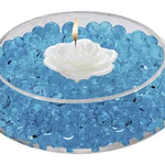 Deco Beads - 8oz Jar, Blue