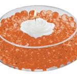 Deco Beads - 8oz Jar, Orange