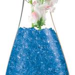 Crystal Accents - 1lb Jar - Sapphire Blue