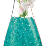 Crystal Accents - 1lb Jar - Turquoise