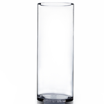 """Clear 4"""" Open Cylinder H-12"""" x Top-4"""""""