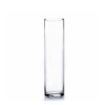 """CLEAR CYLINDER 4""""OPEN,14""""H"""