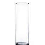 """Clear 16"""""""" Cylinder H-16"""""""" x D-5"""""""