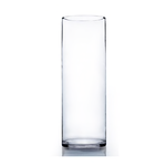 """Clear 16"""" Cylinder H-16"""" x D-6"""""""