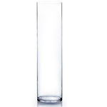 """Clear Cylinder 6""""""""OPEN,28""""""""H"""